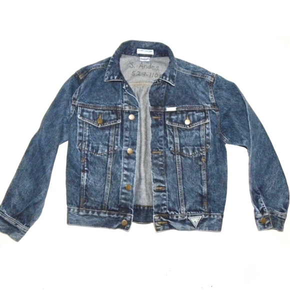 Vintage Jackets Coats Guess Denim Jacket Jeans Jacket Women Xss